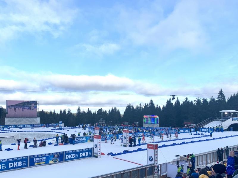 Der Biathlon-Weltcup 2019/20 in Oberhof